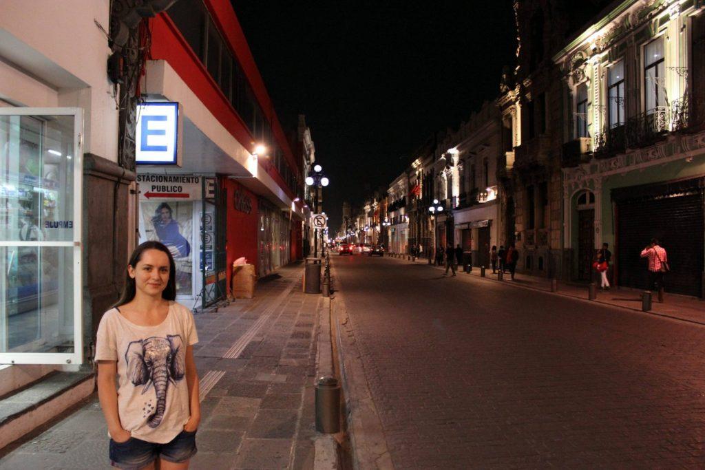 Вечерняя Пуэбла