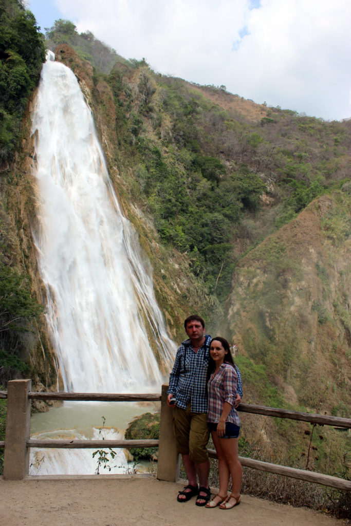 Водопад Эль-Чифлон