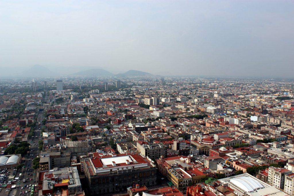 Мехико с обзорной площадки