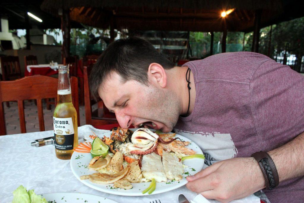 Тестируем морскую пищу