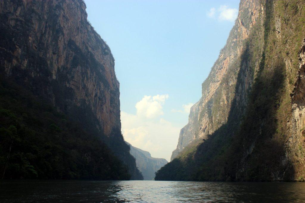 Эль-Сумидеро прогулка на лодке