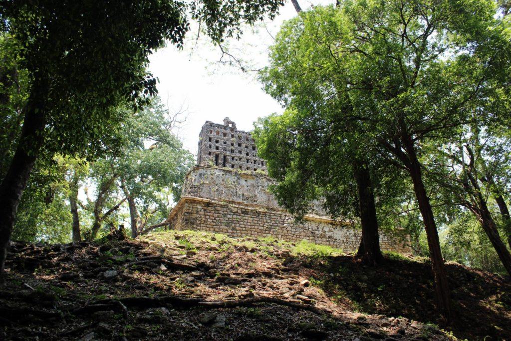 Яшчилан-Акрополис
